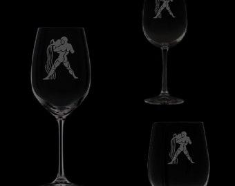 Aquarius Wine Glassware