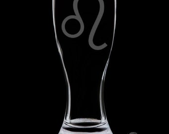 Leo 18 Ounce Pilsner Glass