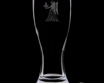Virgo Pilsner Glass.