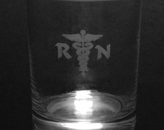 Nurse Rocks Glass