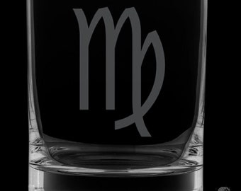 Virgo 13 Ounce Rocks Glass