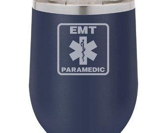 Paramedic Wine Tumbler