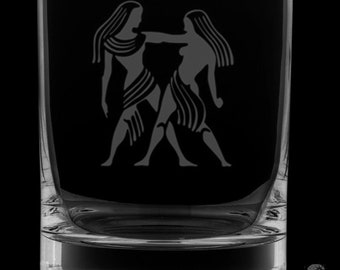 Gemini 13 Ounce Rocks Glass