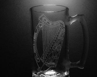 Irish Harp Mug