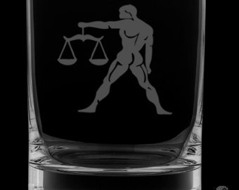 Libra 13 Ounce Rocks Glass