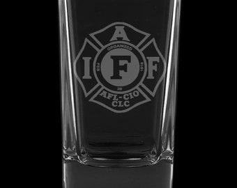 IAFF 2.75 Ounce Dessert Shot Glass (Also available in 2.0oz)