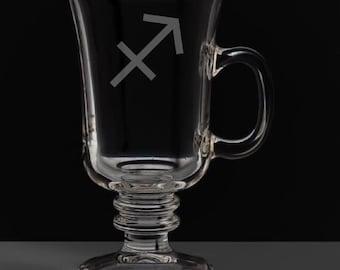 Sagittarius 8.5 Ounce Irish Coffee Mug