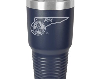 Pan American Airways Coffee Tumbler.