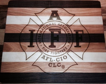 IAFF Cutting Board