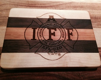IAFF Cutting Board