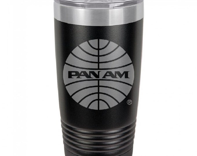 Featured listing image: Pan American Airways Coffee Tumbler