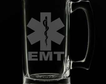 EMT 25 Ounce Beer Mug (Also Available in 16oz & 12oz)