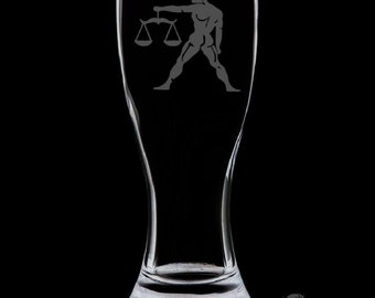 Libra 18 Ounce Pilsner Glass