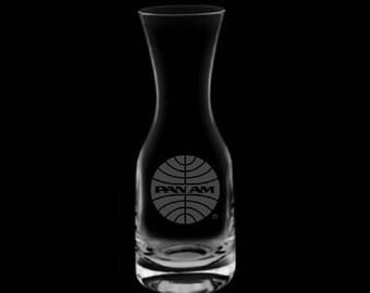 Pan American Airways 32 Ounce Wine Carafe