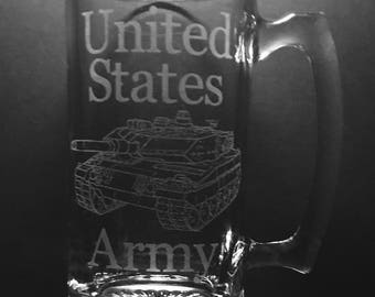 25 Ounce United States Army Beer Mug