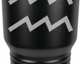 Aquarius 30 Ounce Black Polar Camel Tumbler (Also Available in Red, White, Gray, & Blue)