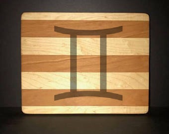 Gemini Cuttingboards Made Out Of Cherry and Maple (8 X10 size displayed)