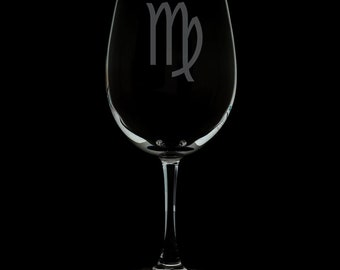 Virgo 12 Ounce Wine Glass (Available With Stem And Stemless)