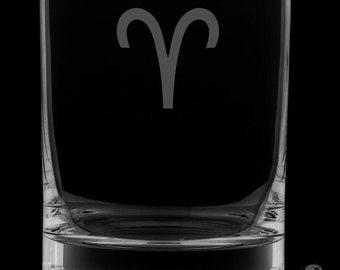Aries Rocks Glass.