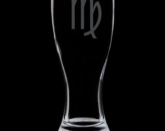 Virgo 18 Ounce Pilsner Glass