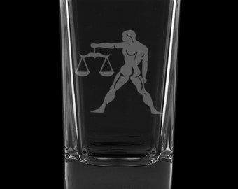 Libra 2.75 Ounce Dessert Shot Glass (Also available in 2.0oz)