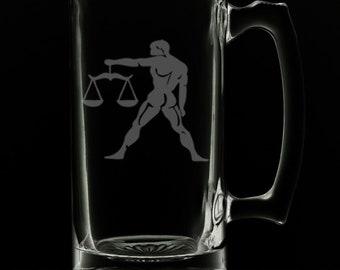 Libra 25 Ounce Beer Mug (Also Available in 16oz & 12oz)