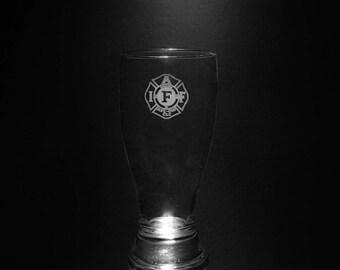 IAFF Pilsner Glass