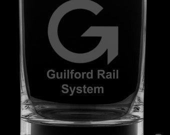 Guilford Rail System 13 Ounce Rocks Glass