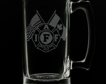 IAFF 25 Ounce Beer Mug
