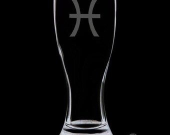 Pisces Pilsner Glass.