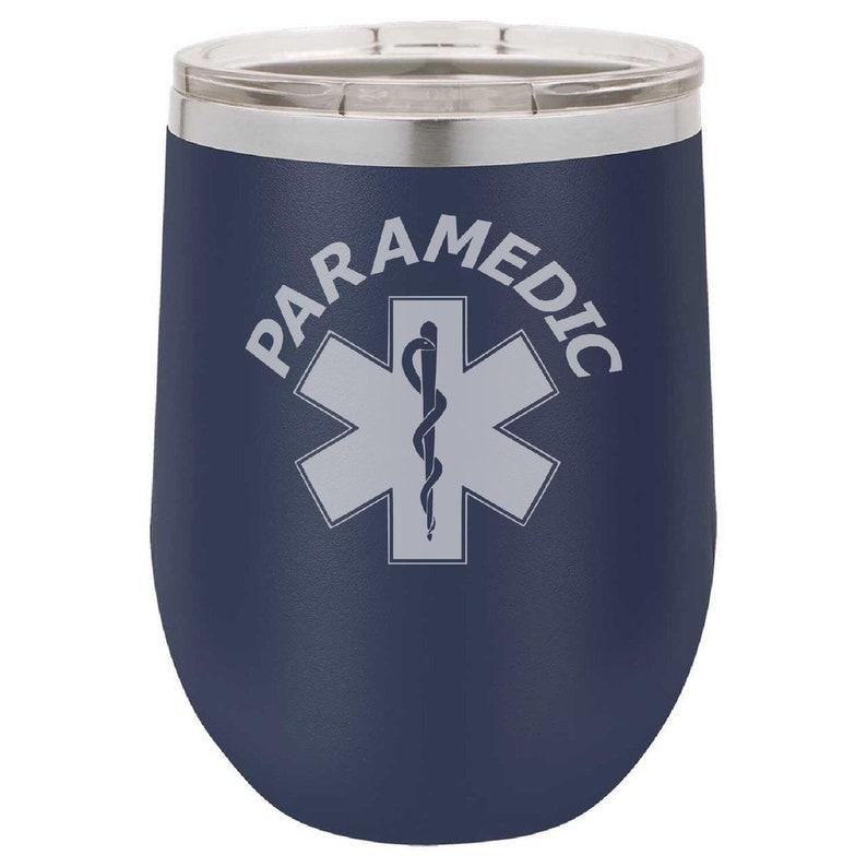 Paramedic Wine Tumbler image 0