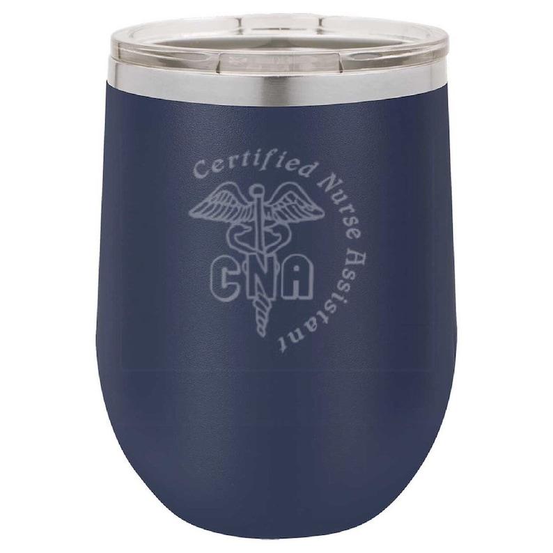 CNA Wine Tumbler image 0