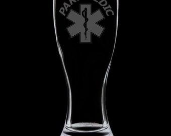 Paramedic 18 Ounce Pilsner Glass