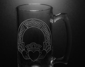 25 ounce Claddagh Design Mug