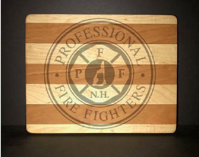 PFFNH Cuttingboards Made Out Of Cherry and Maple 8 X10 size image 0