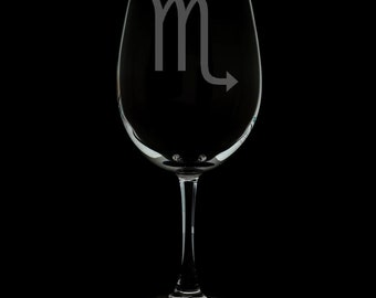 Scorpio 12 Ounce Wine Glass (Available With Stem And Stemless)