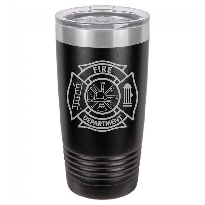 Fire Department Tumbler image 0