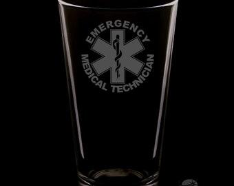 EMT 16 Ounce Pint Glass