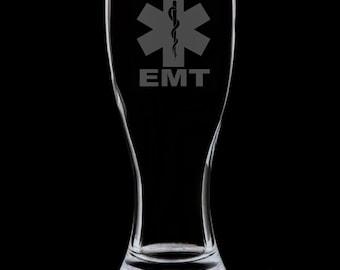 EMT 18 Ounce Pilsner Glass