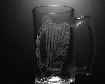 25 Ounce Irish Harp Mug