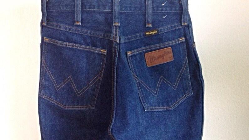 5ce0487c Vintage Wrangler Dark Blue Denim Straight Leg Jeans 27 28   Etsy
