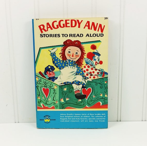 Raggedy Ann Stories To Read Aloud By Johnny Gruelle 1960 Etsy