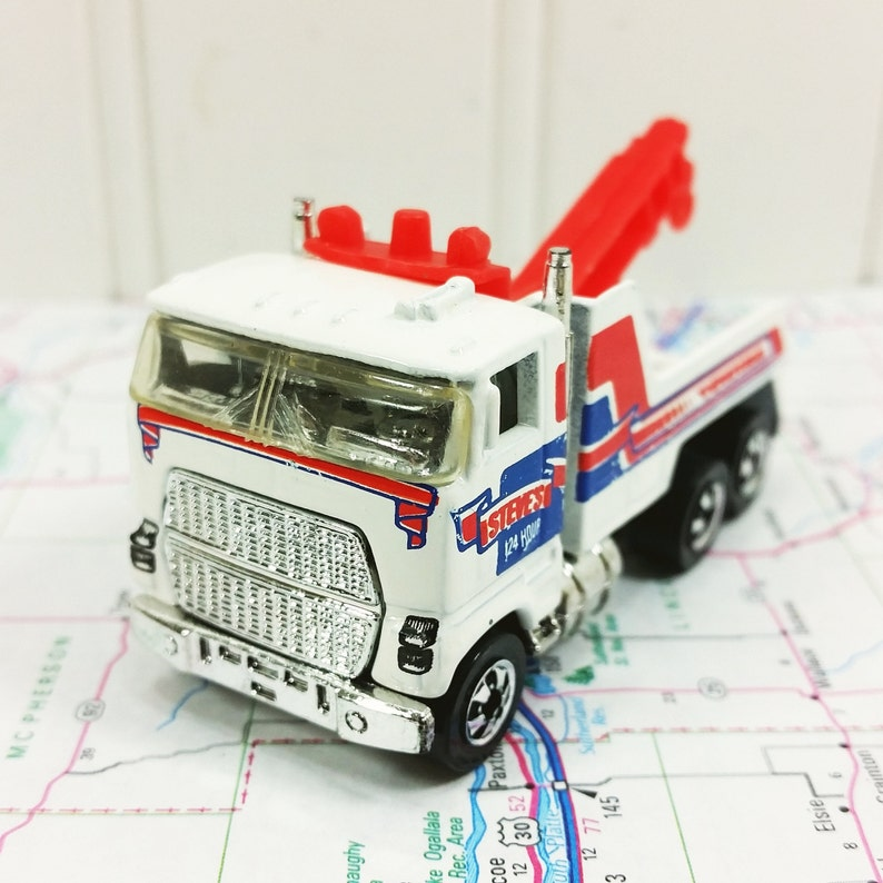 Hot Wheels Tow Truck, 1989 Workhorse Series Collector 46, Rig Wrecker  Steves 24 Hour Towing