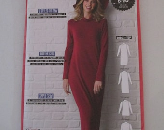 Simply Sewing - The Lauren Set - dress top - sizes 6-20 - 2 styles - unopened