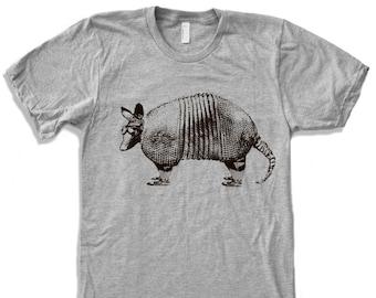 Mens ARMADILLO T Shirt custom color printed tee