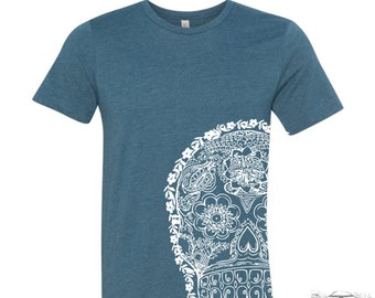 Mens Day of the DEAD 2  T-shirt  s m l xl xxl (+ Color Options) custom