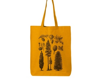 Pines and Trees Collection Eco-Friendly Market Tote Bag printed (Ships FREE!)