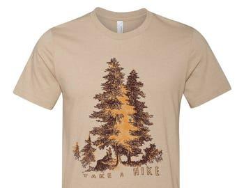 Mens TAKE A HIKE T-Shirt s m l xl xxl (+ Color Options) custom