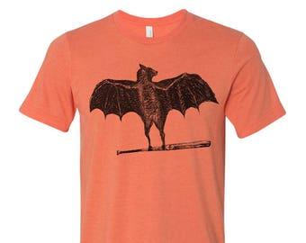 Men's BAT t shirt s m l xl xxl (+ Color Options) custom screen printed custom