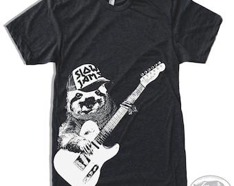 Mens SLOTH 3 (Slow Jams) T Shirt s m l xl xxl (+ Color Options) Zen Threads custom